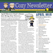 Cozy Newsletter April 2015