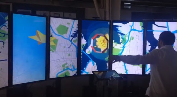 Instrument's Map Diving demo recreates a Google IO keynote, minus Sergey Brin