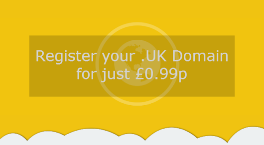 Happy 1st Birthday! Grab your .UK Domain for just 99 pence! | Netcetera Buzz
