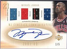 The Top Michael Jordan Autographed Cards of All Time