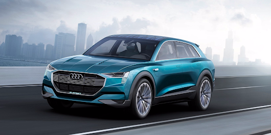 Here's the electric car Audi is building to take on Tesla