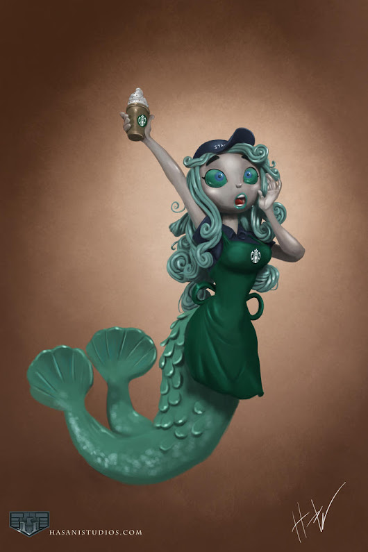 Mermaid Barista