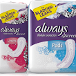 Free Always Underwear or Incontinence Liner and Pad Multi-Pack Sample - SweetFreeStuff.com