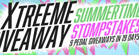 Xtreeme Summertime Stompstakes Giveaway! | Reverb