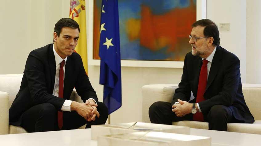 Resultado de imagen de Rajoy y el Psoe