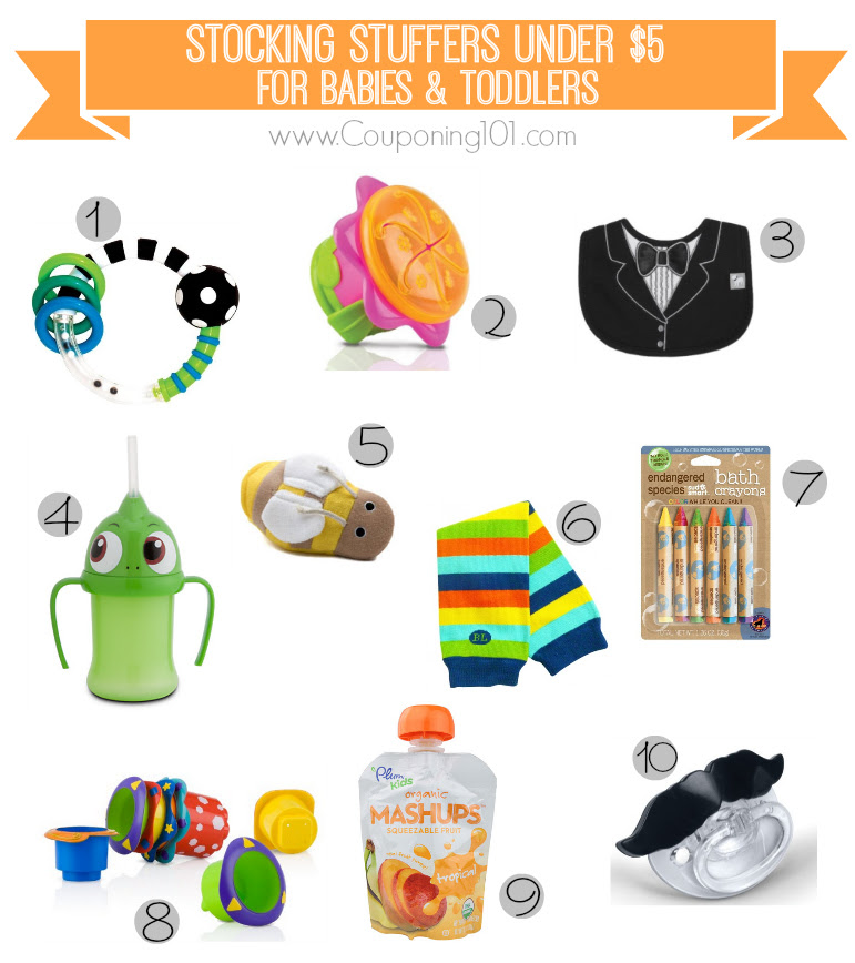 10 Stocking Stuffer Ideas For Babies Toddlers For 5 Or Less