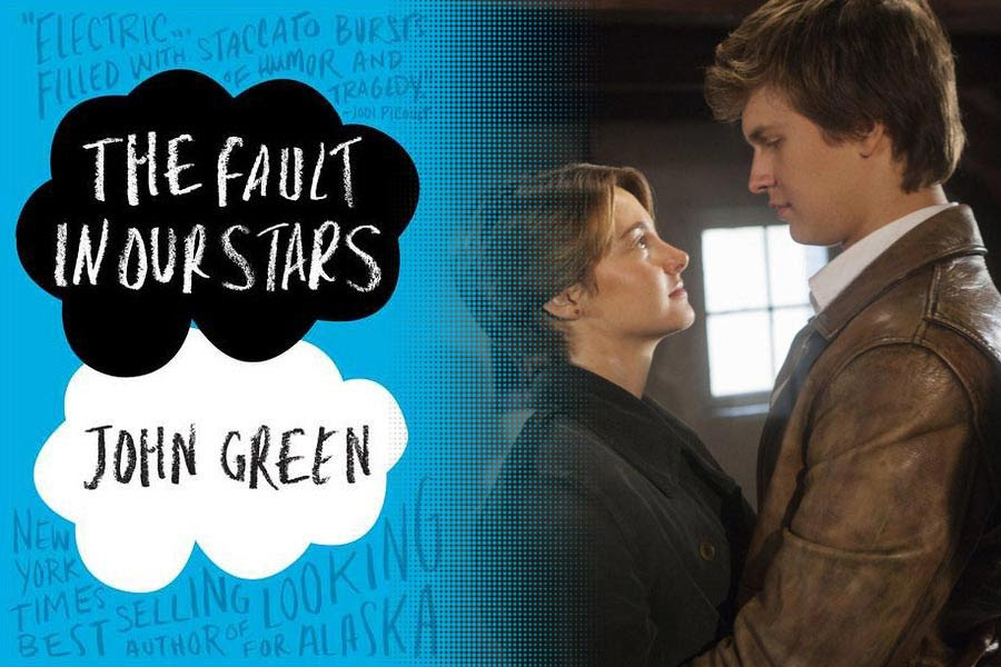 Bilderesultat for fault in our stars book and movie