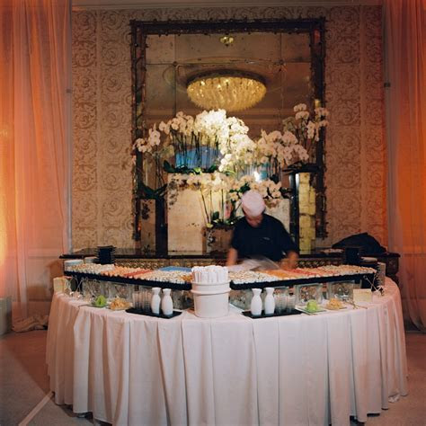 YES . For sure having a sushi bar at my wedding. Don't