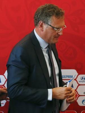 Jerome Valcke Russia Copa do Mundo (Foto: Reuters)