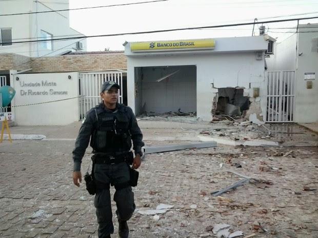 Banco do Brasil São Miguel do Gostoso (Foto: Divulgação/PM)