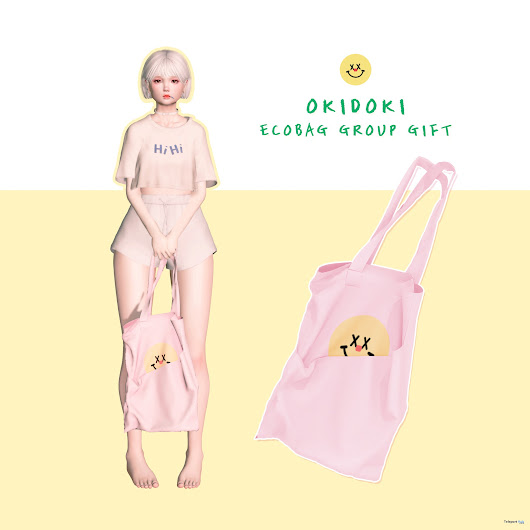 Eco Bag Group Gift by okidoki | Teleport Hub - Second Life Freebies