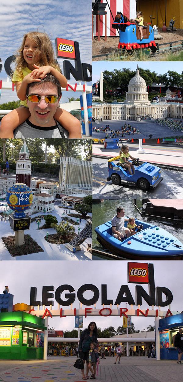Julia amou a Legoland, nós adoramos as réplicas de Lego, perfeitas!