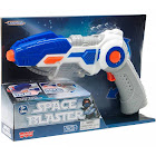 Lasertech Space Blaster Toy Gun and Sword 2-in-1 Light Up Weapon for Kids - Blue