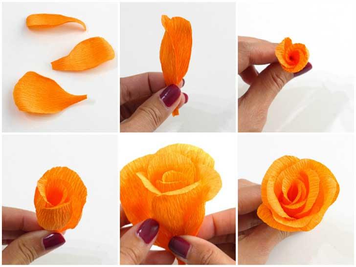 Como Hacer 5 Flores De Papel Que Decoraran Tu Hogar Con Estilo Y