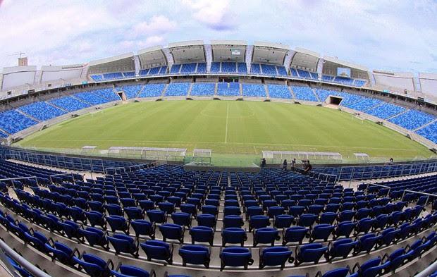 Área interna da Arena das Dunas terá shows pela primeira vez (Foto: Canindé Soares/G1)