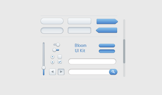 Bloom UI Kit - 365psd