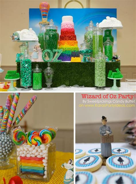 Kara's Party Ideas Wizard of Oz Rainbow Wedding Party