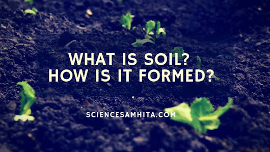What is Soil? How is it formed? - Science Samhita