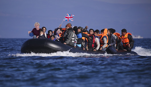 Thousands Of British Refugees Make Dangerous Journey Across The Irish Sea