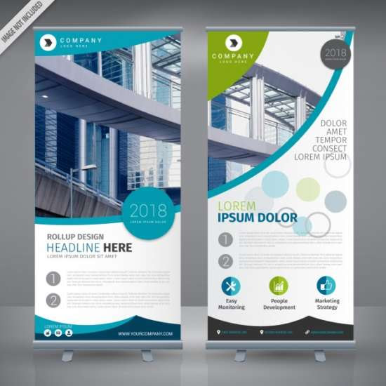 35 Roll Up Banner Templates Mockups XDesigns