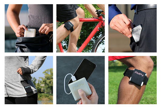 Ampy: A half-hour jog with this device will charge your phone for three hours