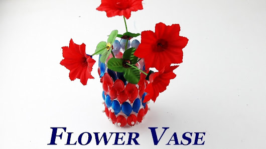 How To Make Flower Vase Out Of Plastic Bottle Please Watch This