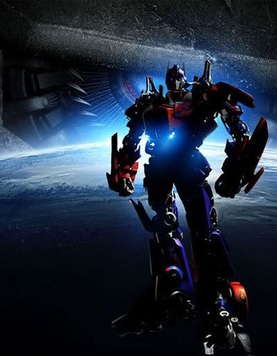Optimus Prime in TRANSFORMERS.