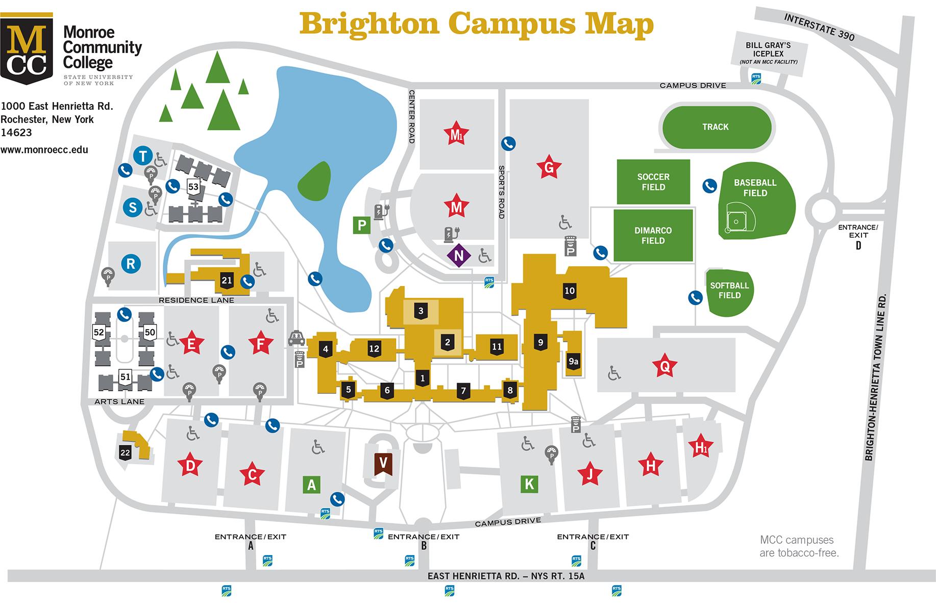 Brighton Campus About Mcc Monroe Community College
