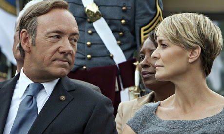 I advised House of Cards on its season two plot