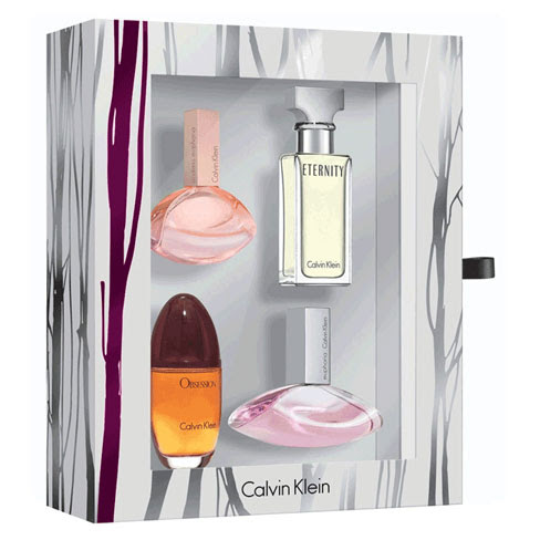Calvin Klein women mini 4 piece Gift Set