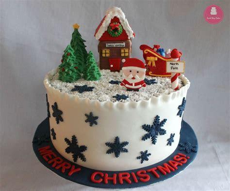 Christmas Cake   CakeCentral.com