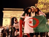supportrices rues Algérie  Coupe du Monde 2014