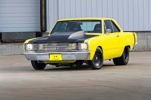 Troy Aves' 1967 Dart Runs 8s With a Gen III Hemi and a Big Turbocharger - Hot Rod Network