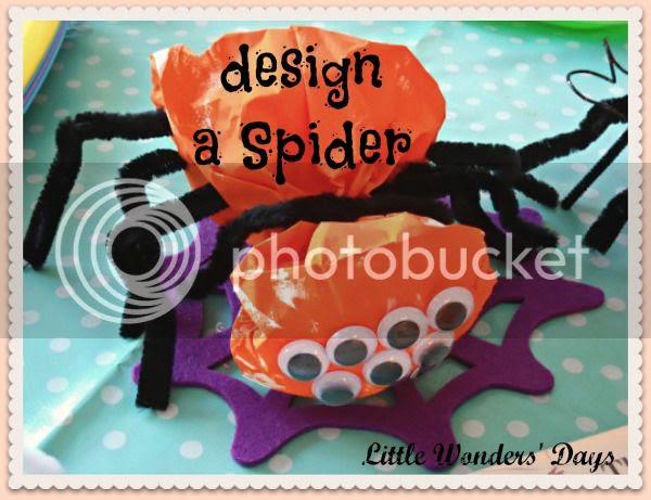 spider craft for kids