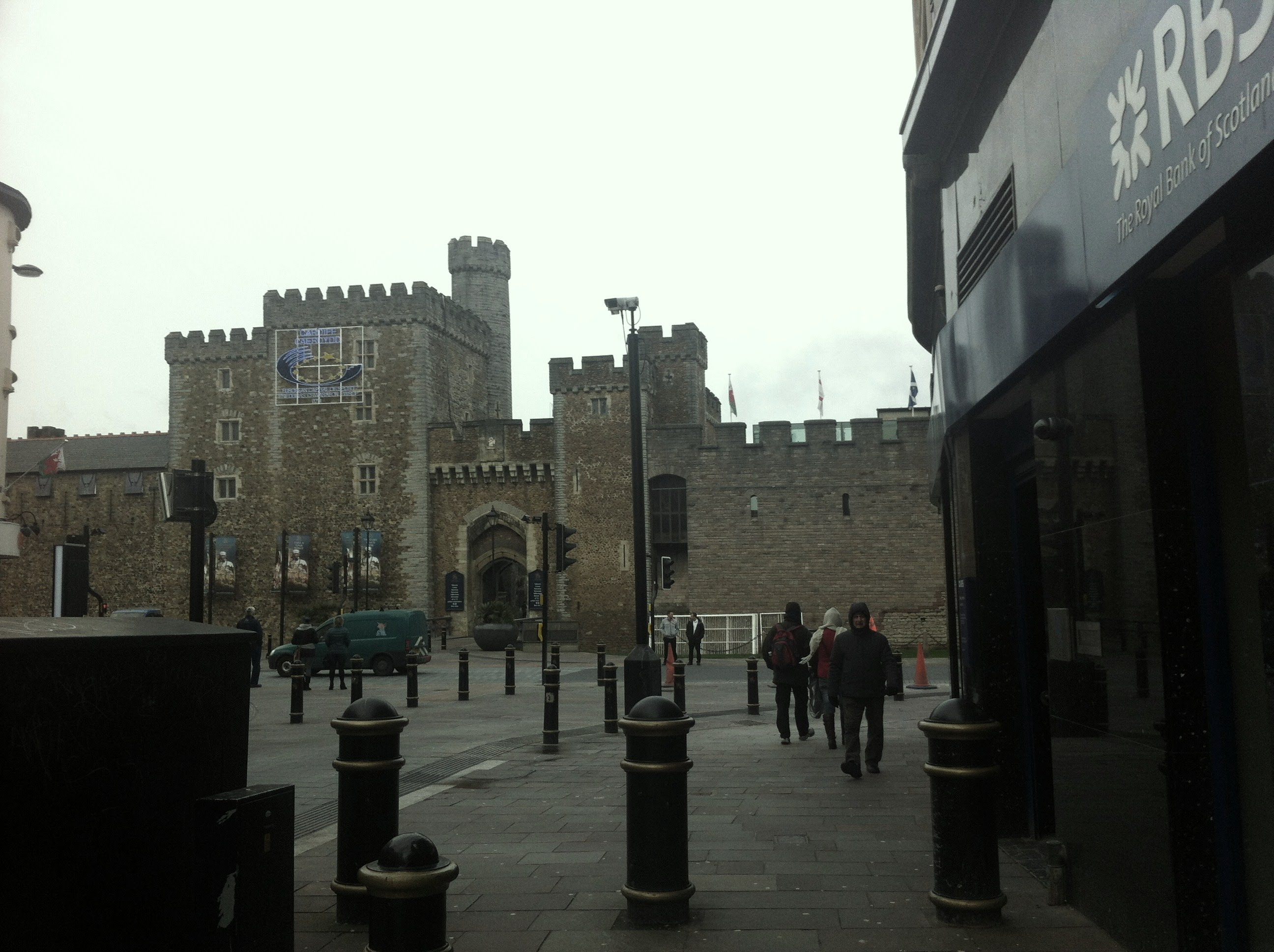 Cardiff Castle. A piece of Welsh history