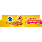 Pedigree Chopped Ground Dinner Multipack Beef & Chicken Canned - Wet Dog Food - 13.2oz - 12ct