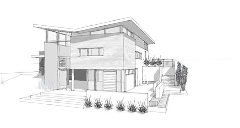 modern home architecture sketches design ideas