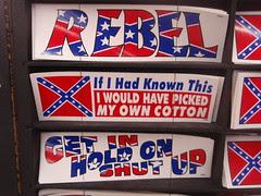 racist bumper sticker
