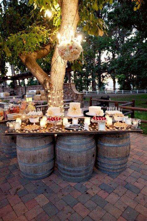 1000  ideas about Rustic Buffet Tables on Pinterest