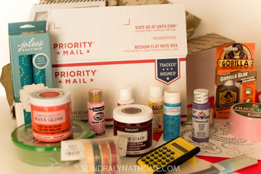 Decor & Craft Supply Box Giveaway - Sondra Lyn at Home