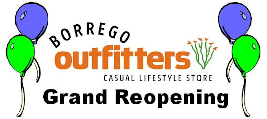 Grand Reopening at Borrego Outfitters