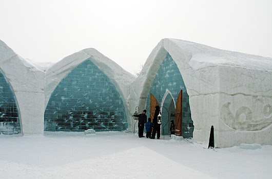Quebec's Ice Hotel Knows All About Hygge