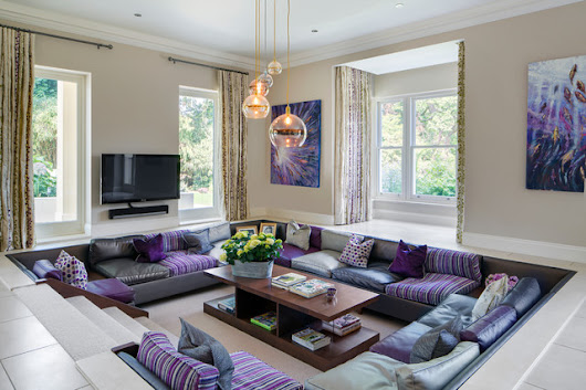 Lakeside, ESHER - Contemporary - Living Room - Surrey - by Lindi Reynolds Interior Design
