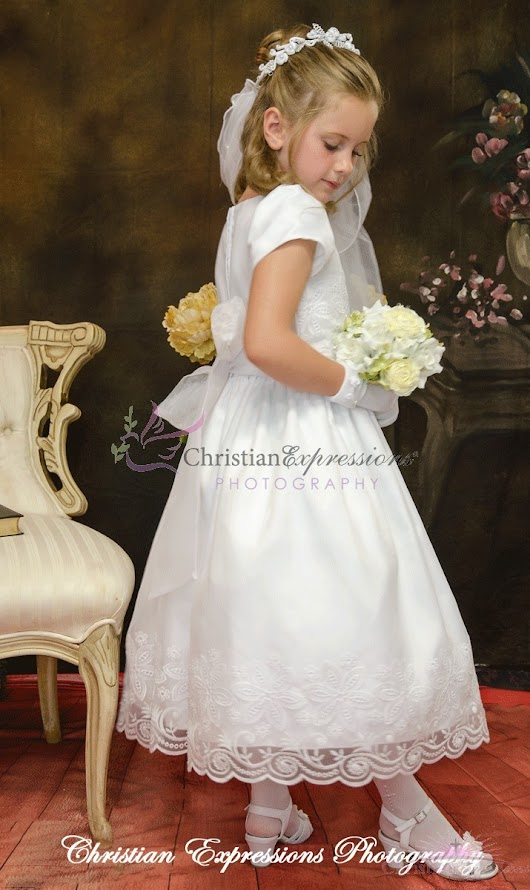 First Communion Dress Style Christina
