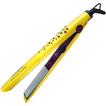 Bed Head Attention Grabber Flat Iron for Smooth Sleek Styles, 1 inch, Yellow