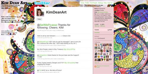 50 Beautiful & Unique Twitter Profile Designs
