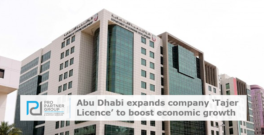 Abu Dhabi expands company 'Tajer Licence' to boost economic growth