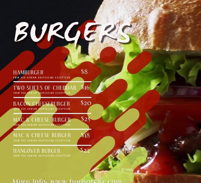Desain Banner Makanan Simple - contoh desain spanduk
