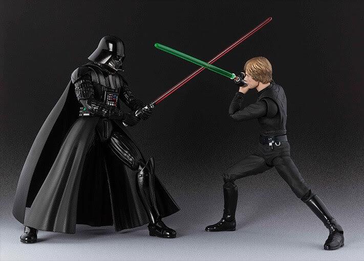 As novas S.H. de Star Wars.