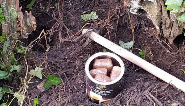 Κέρκυρα: 56χρονος έκρυβε σε χωράφι του μισό κιλό ηρωίνη